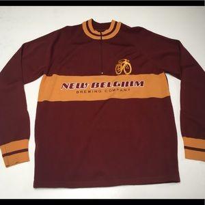 New Belgium Brewing Merino Wool LS Bike Jersey